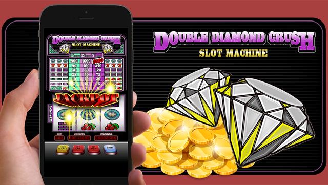 Double Diamond Crush Slot machine screenshot 1