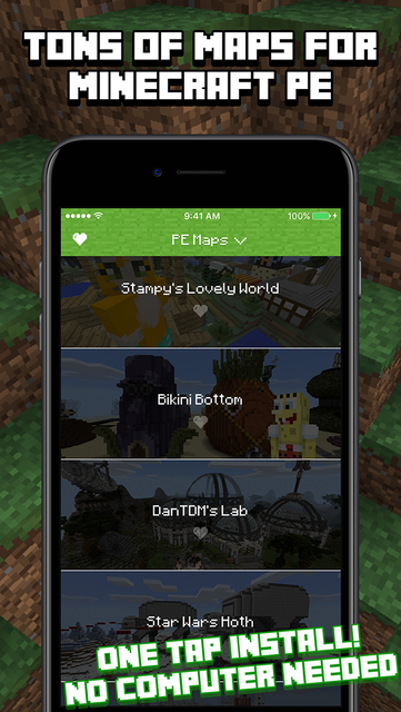Maps for Minecraft PE screenshot 1