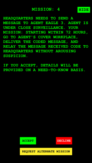 Spy Mission screenshot 2