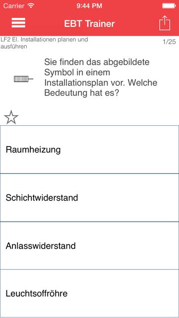 EBT Trainer - Elektroniker für Betriebstechnik screenshot 2