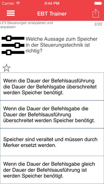 EBT Trainer - Elektroniker für Betriebstechnik screenshot 3