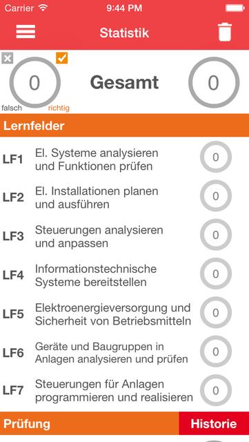 EBT Trainer - Elektroniker für Betriebstechnik screenshot 4