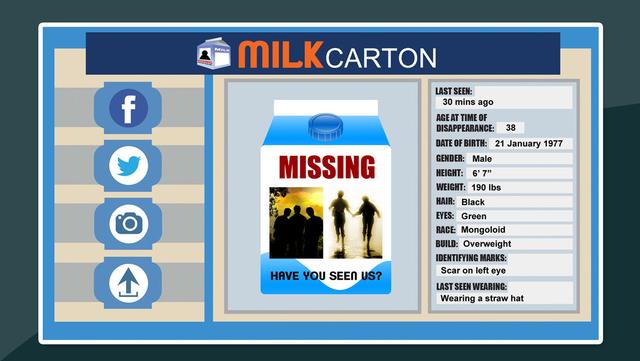 Milk Carton Famous Faces screenshot 3