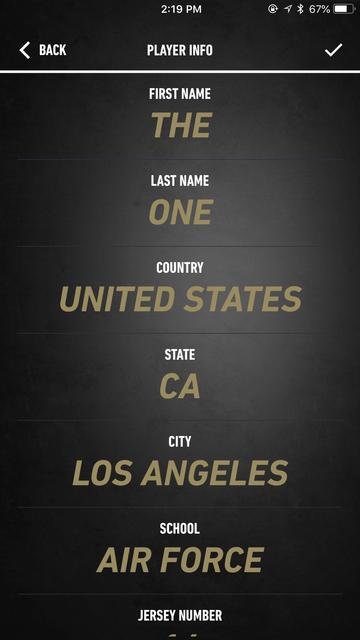 NBA LIVE 19 Companion screenshot 3