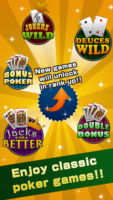 Video Poker Deluxe - Free Game screenshot 3