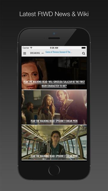 Wiki for Fear the Walking Dead screenshot 1