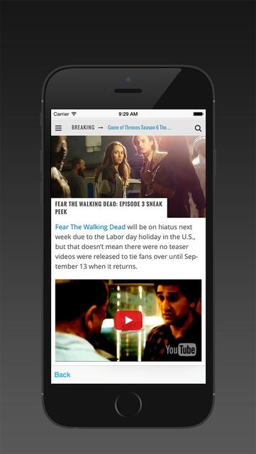 Wiki for Fear the Walking Dead screenshot 2