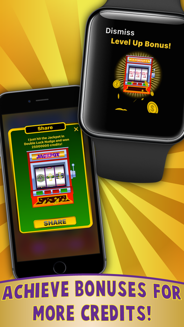 Double Luck Nudge Slots for Apple Watch screenshot 5