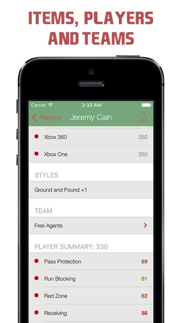 Pocket Wiki for Madden NFL 16 screenshot 3