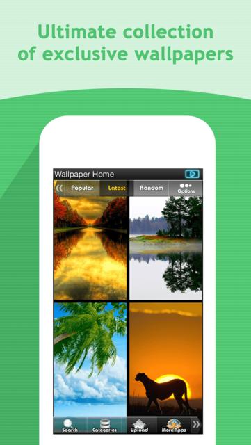 HDScreen - Beautiful Retina Wallpapers Backgrounds screenshot 1
