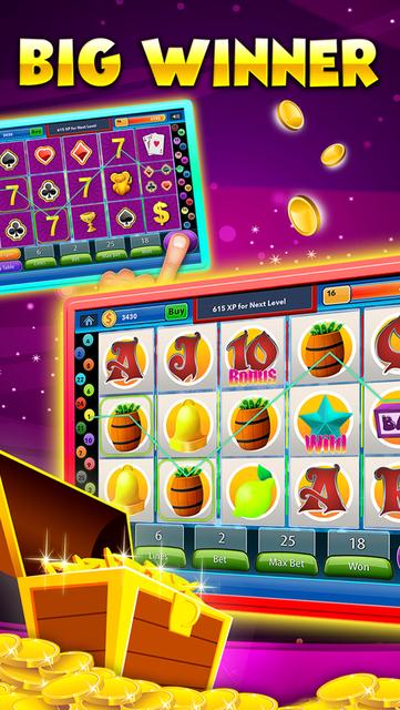 Vegas Heart's Slots & Casino - play lucky boardwalk favorites grand poker and more screenshot 2