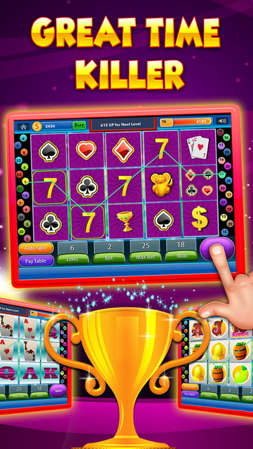 Vegas Heart's Slots & Casino - play lucky boardwalk favorites grand poker and more screenshot 4