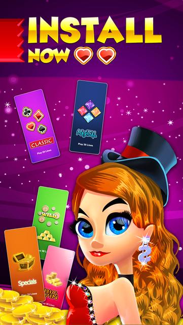 Vegas Heart's Slots & Casino - play lucky boardwalk favorites grand poker and more screenshot 5