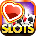 Icon for Vegas Heart's Slots & Casino - play lucky boardwalk favorites grand poker and more