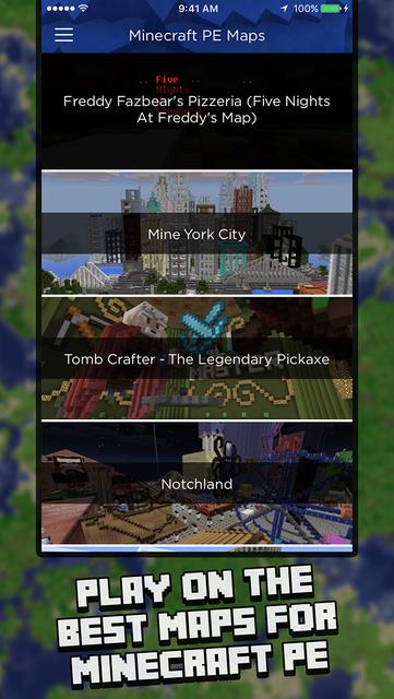 Maps for Minecraft PE (Map Installer) screenshot 1