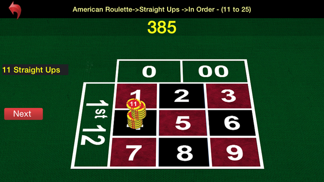 Roulette Trainer screenshot 3