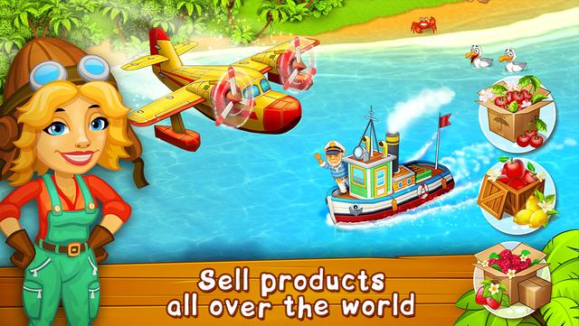 Farm Paradise: farm trade game screenshot 5