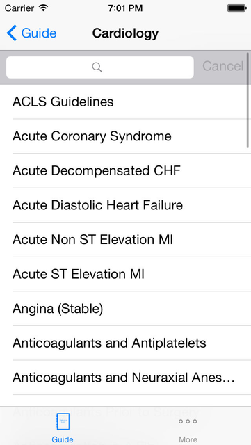 Internal Medicine Guide screenshot 2