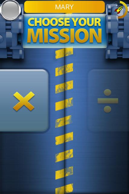 Rocket Math Multiply at Home screenshot 1