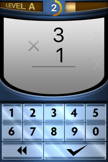 Rocket Math Multiply at Home screenshot 2
