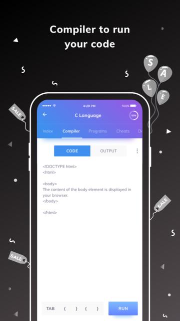 Programming Hub: Learn to code screenshot 20