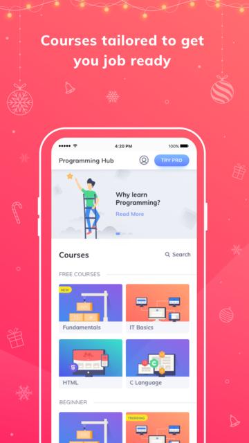 Programming Hub: Learn to code screenshot 28