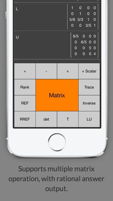 Matrix Calculator +    —Lite Version screenshot 1