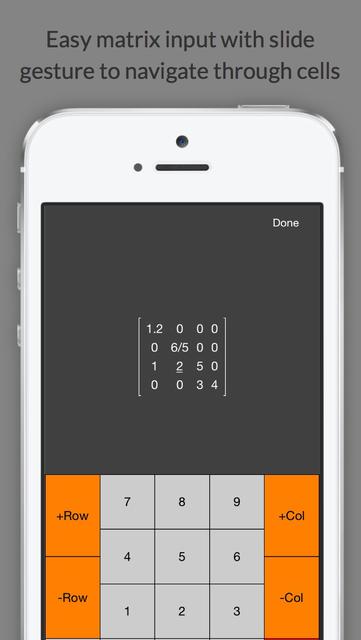 Matrix Calculator +    —Lite Version screenshot 3
