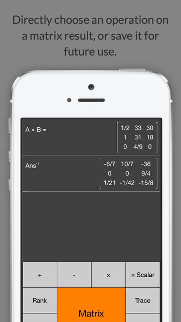 Matrix Calculator +    —Lite Version screenshot 4