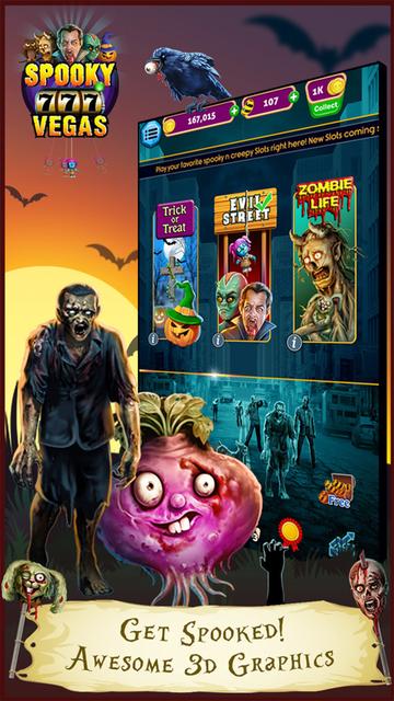 Spooky Vegas Slot Machines - Free Casino screenshot 1