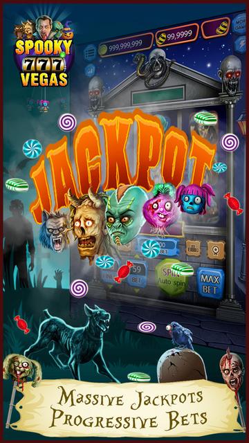 Spooky Vegas Slot Machines - Free Casino screenshot 2