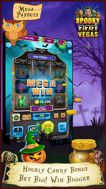 Spooky Vegas Slot Machines - Free Casino screenshot 3