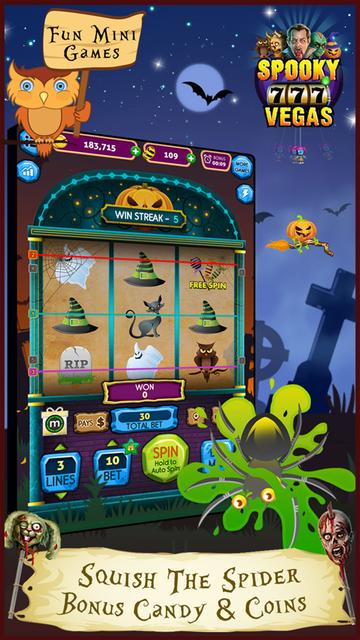 Spooky Vegas Slot Machines - Free Casino screenshot 4