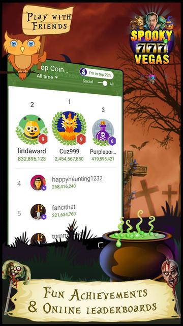 Spooky Vegas Slot Machines - Free Casino screenshot 5