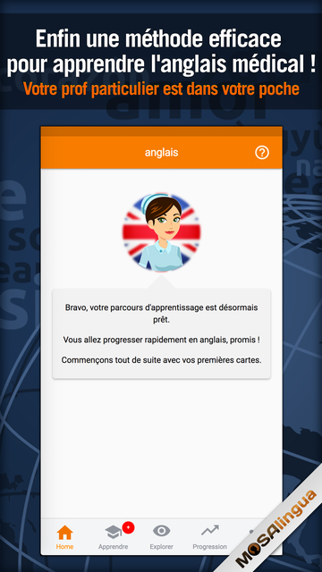 Apprendre l'Anglais Médical screenshot 1