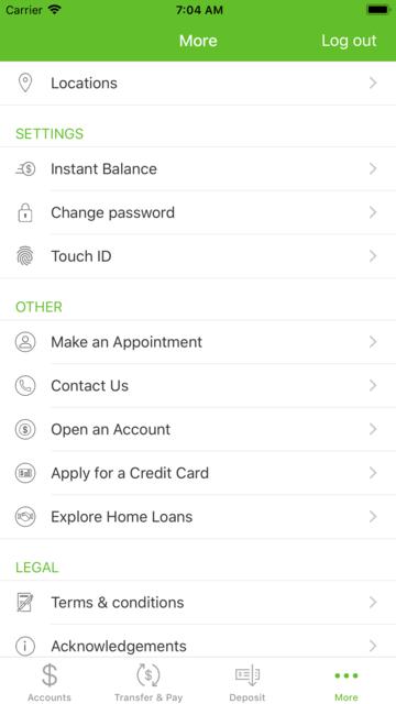 WaFd Bank screenshot 7