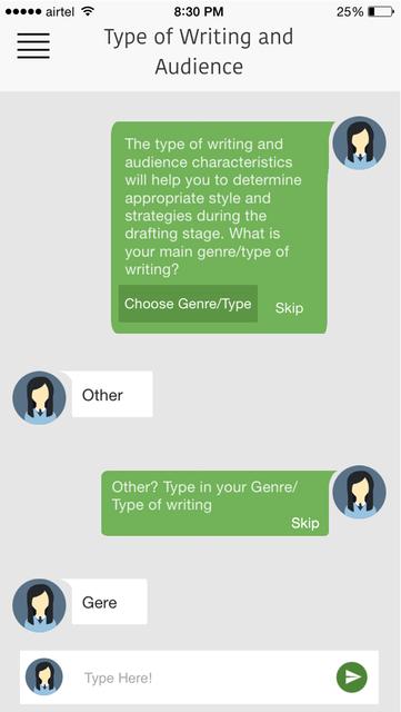 The Write Tool screenshot 4