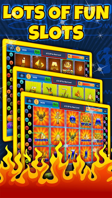 Pharaoh's on Fire Slots and Casino 2 - old vegas way with roulette's top wins screenshot 4