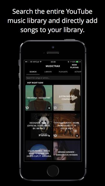 Musictrax - Unlimited Music screenshot 5