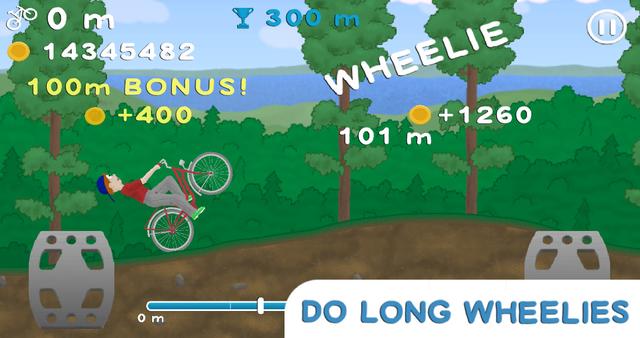 Wheelie Bike screenshot 2