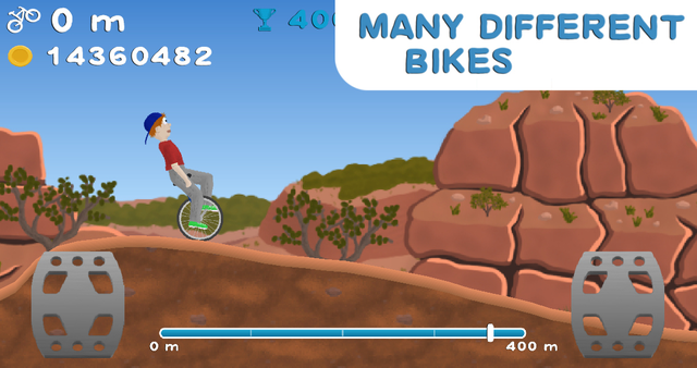 Wheelie Bike screenshot 4