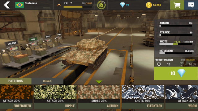 War Machines: Tank Army Games screenshot 7