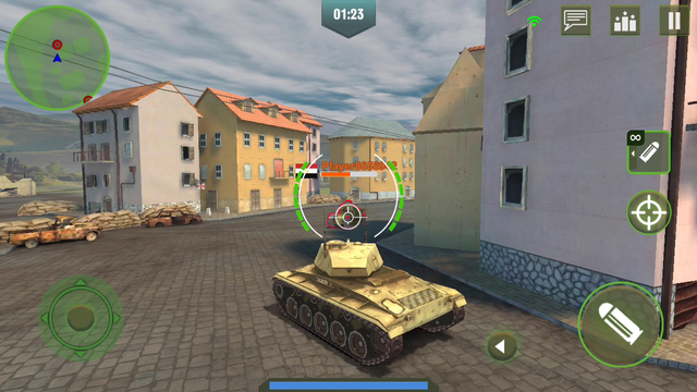 War Machines: Tank Army Games screenshot 8
