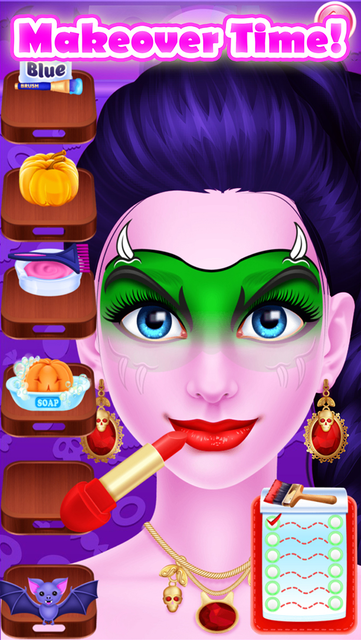 Face Paint Party Salon Games screenshot 19