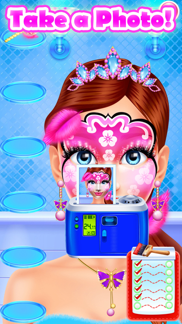 Face Paint Party Salon Games screenshot 27