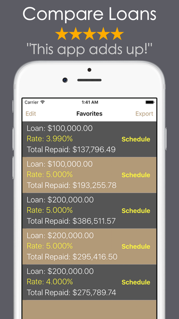 Loan Calculator - Debt Payoff screenshot 8
