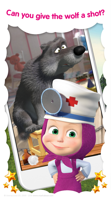 Masha and the Bear: Vet Games screenshot 7
