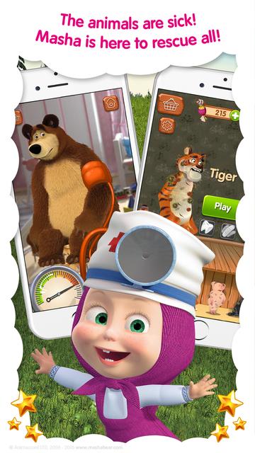 Masha and the Bear: Vet Games screenshot 10
