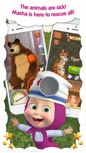 Masha and the Bear: Vet Games screenshot 5