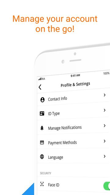 Ria Money Transfer screenshot 5